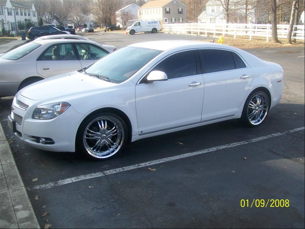 2009 Chevy Malibu On Rims Find The Classic Rims Of Your Dreams