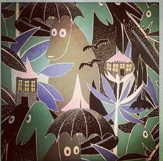 Time for a Moomin story! #sofo #sofopopup #popup #popupstore #showroom #popupandshowroom #moomin #mumin #moominlovers #moominfans #tovejansson #moominpattern #jungle #södermalm #stockholm #sweden #katarinabangata44 #welcome #welcometoourshop #design #buyonline #ivanahelsinki #paolasuhonen #ss16 #springsummer16