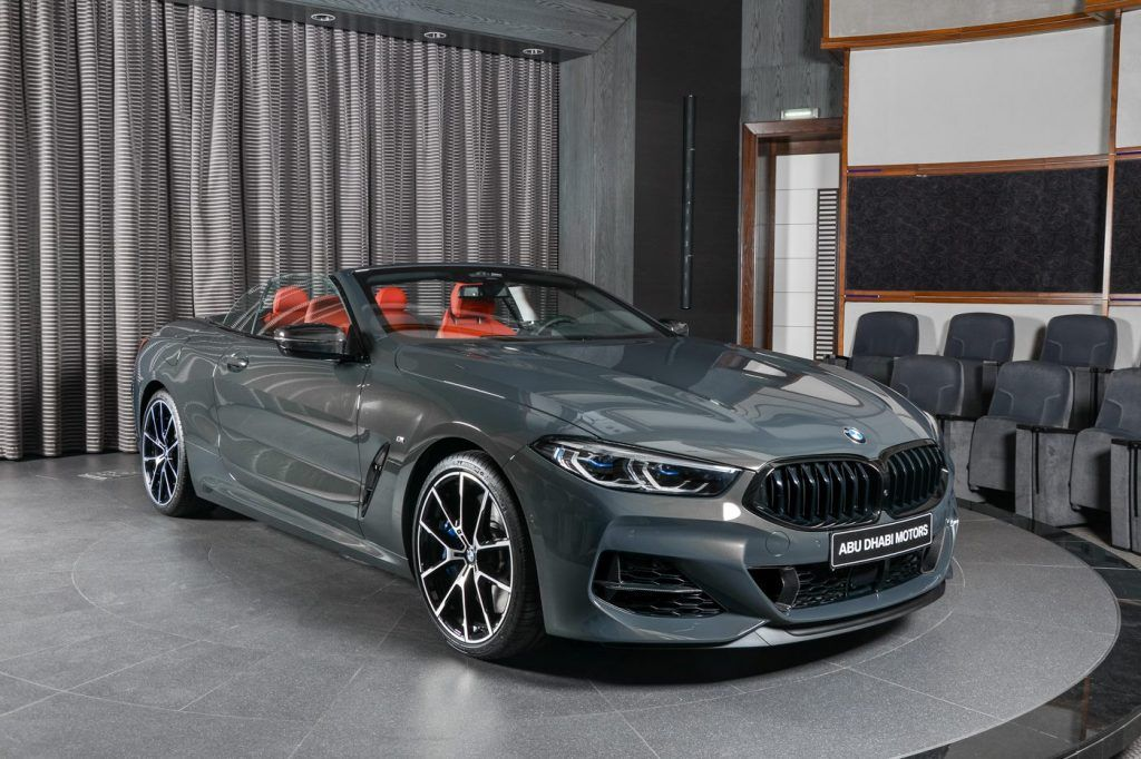 Who Said Grey Is Boring Bmw M850i Xdrive Convertible In Individual Dravit Grey Carscoops In 2020 New Bmw Bmw Convertible