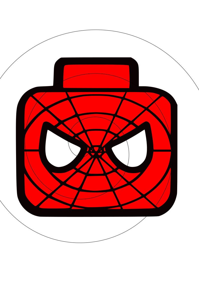 spiderman lego head svg file by chattycraftershop on etsy etsy svg