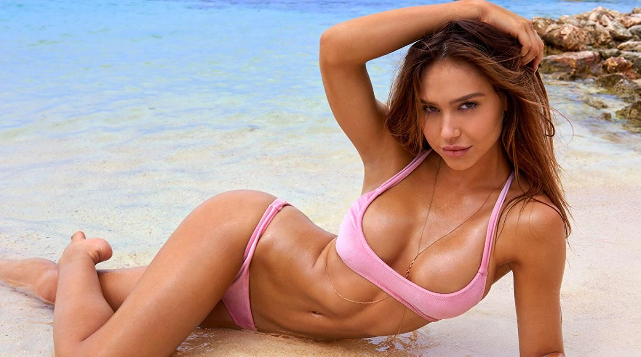 ALEXIS REN F Various Types 2018 Sports Illustrated SI Swimsuit Bikini Model