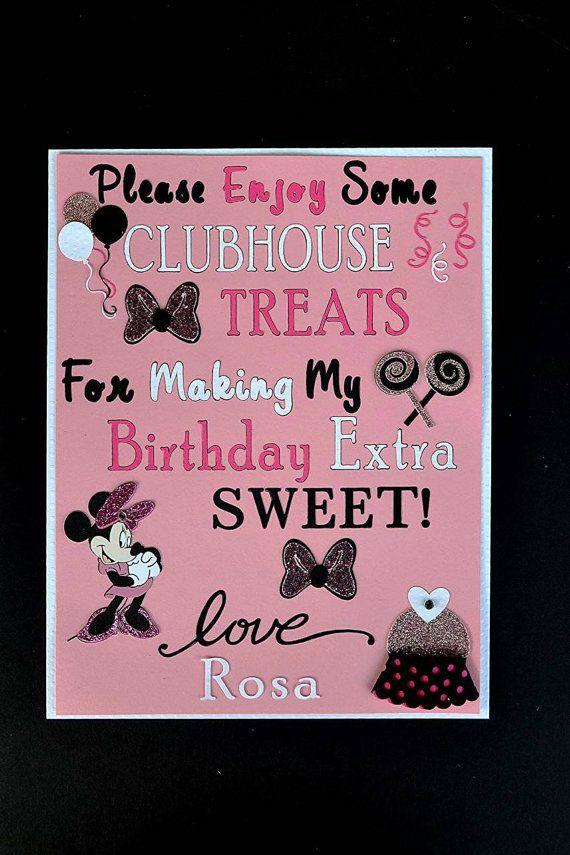 25 Best Minnie Mouse Candy Bar Ideas On Pinterest