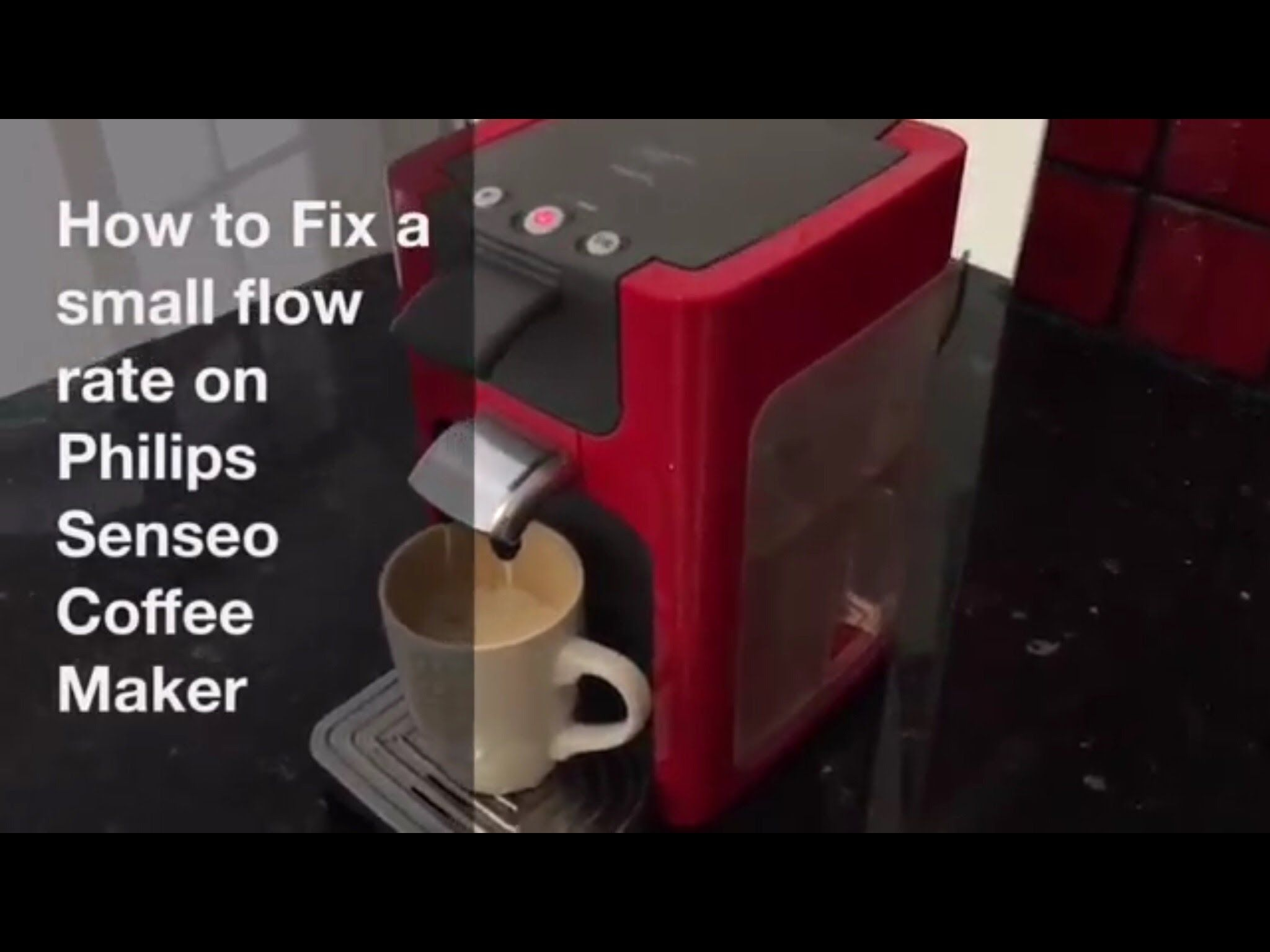 How to Fix Low Flow Rate on Philips Senseo Coffee Maker