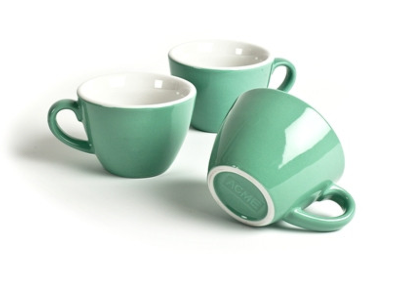 Acme NZ Espresso cups, Cup and saucer, Saucer