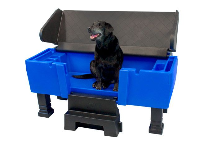 Groom Pro Pet Tub Is A Dog Wash And Grooming Station In One With