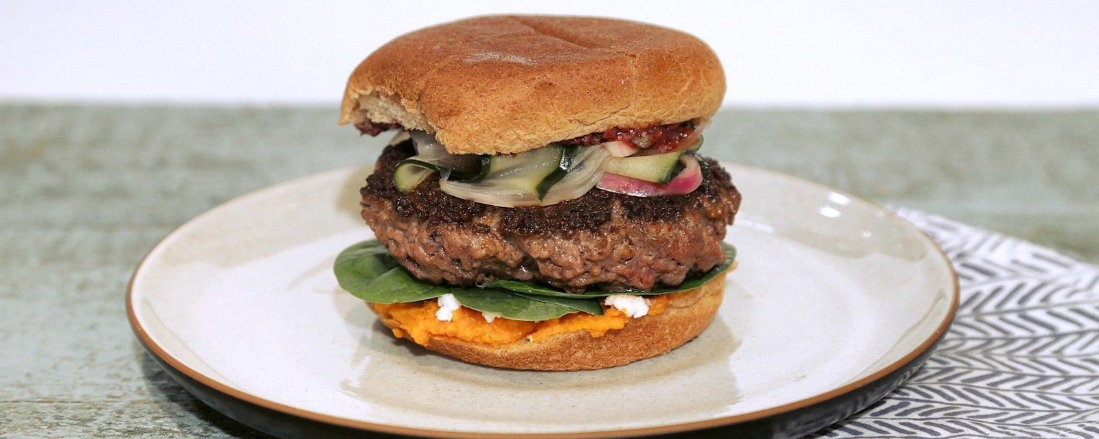 Give your burgers a Greek makeover!