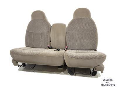 Ford F150 F 150 Oem 60 40 Cloth Seats 1997 1998 1999 2000 2001 2002 2003 2004 Ford F150 F150 Seating