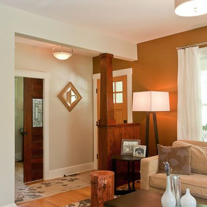 amusing living room half wall | entry way half wall - Google Search | Home Builders ...