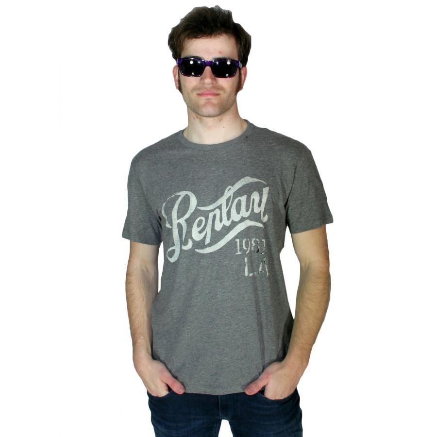 6ee72a135612 REPLAY Ανδρική slim fit μπλούζα Μ3274