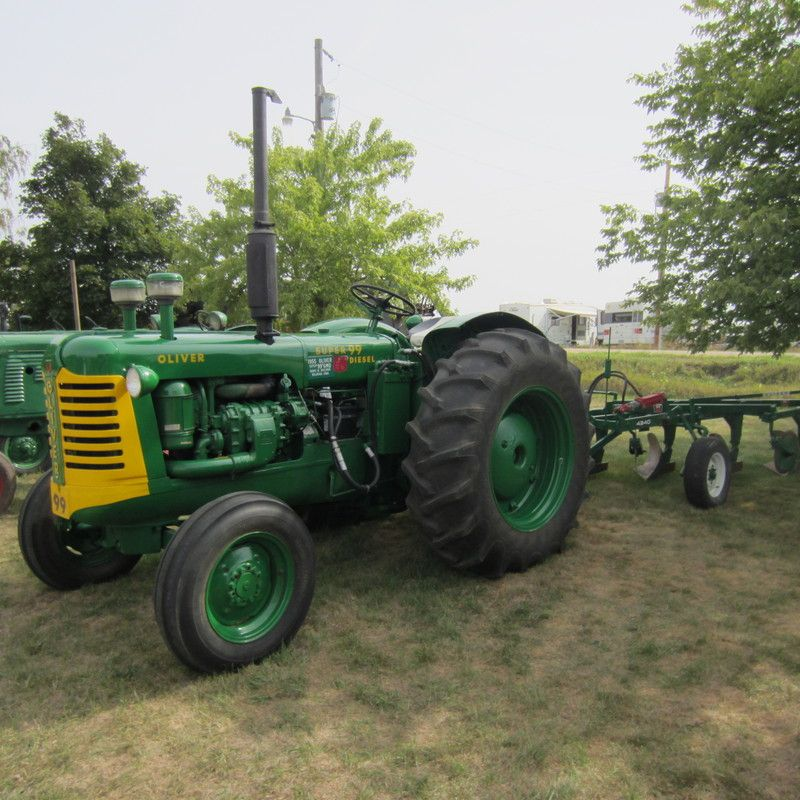 Do you think 1956 Super 99 GM Oliver deserves to win the ... Oliver Tractor Wiring Harness on