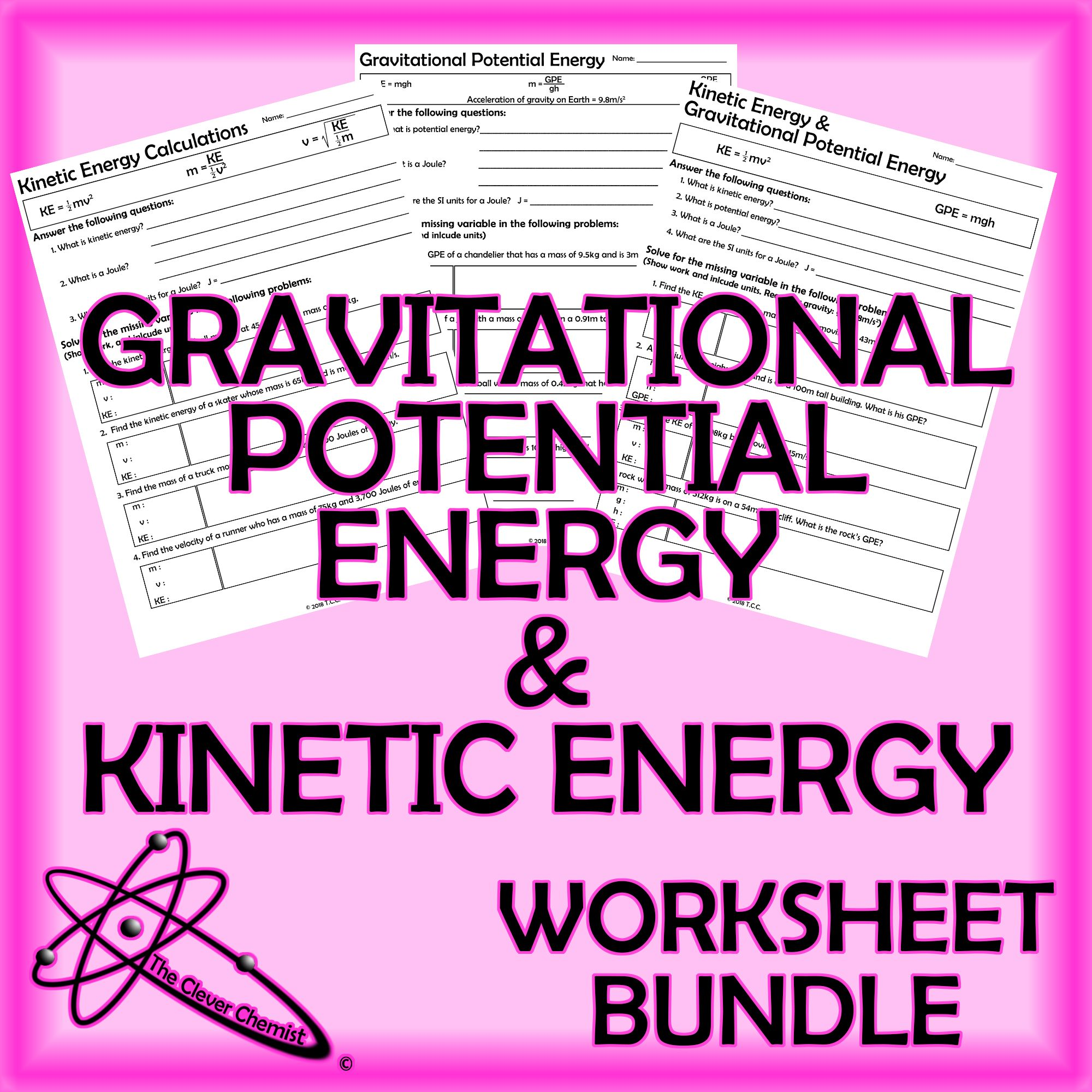 Kinetic Energy And Gravitational Potential Energy