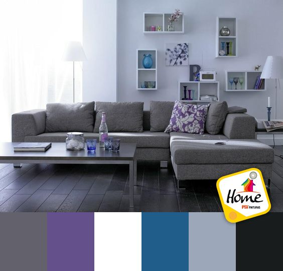 El color gris es uno de los colores que predominan en for Q color combina con el gris