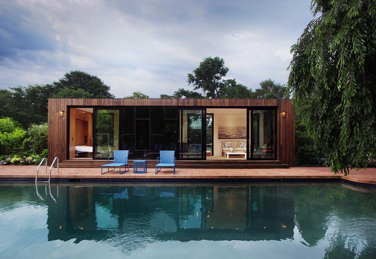 cocoon9 modular southampton pool house interior cocoon9 cabin