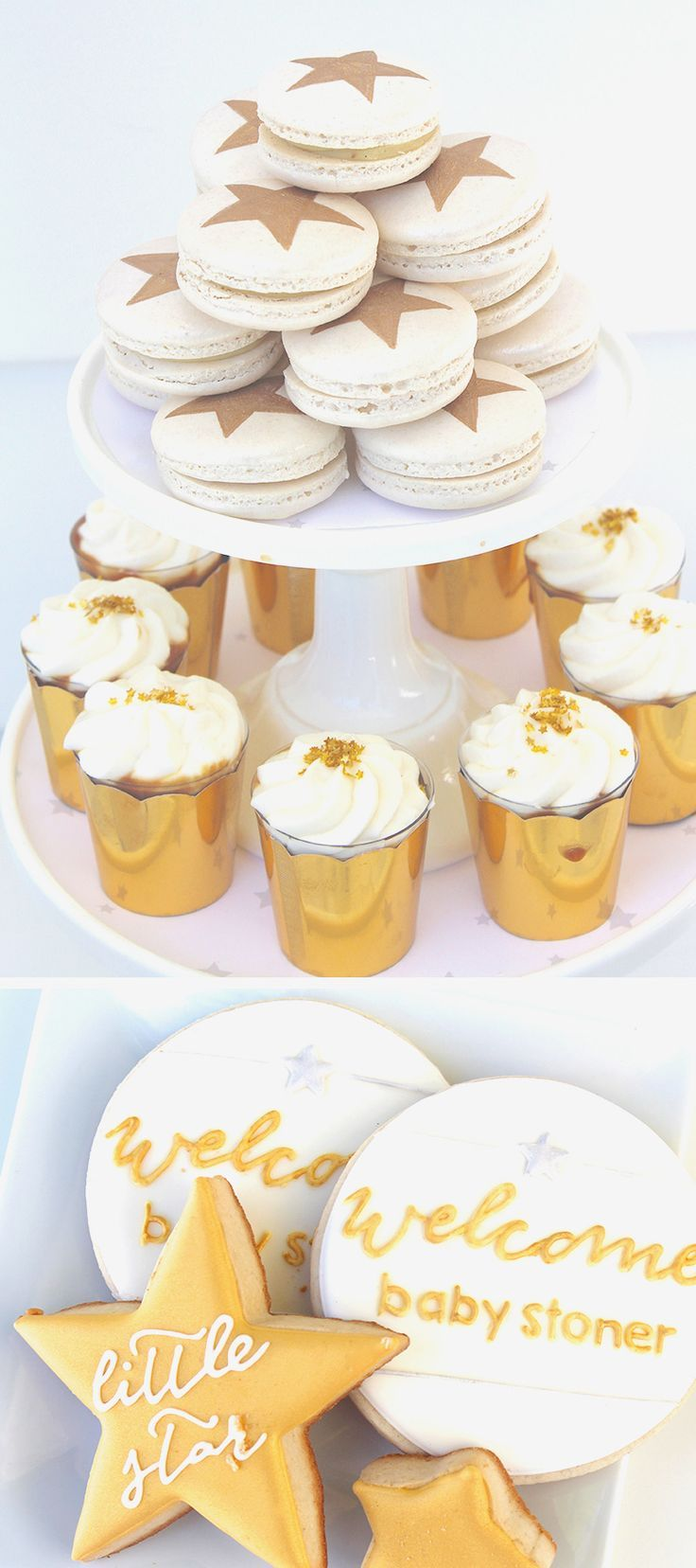Twinkle Twinkle Baby Shower Treats