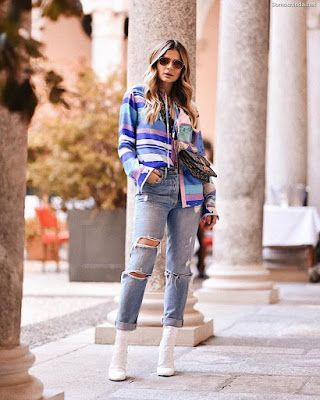 Photo of Pantalones Rotos de Mujer