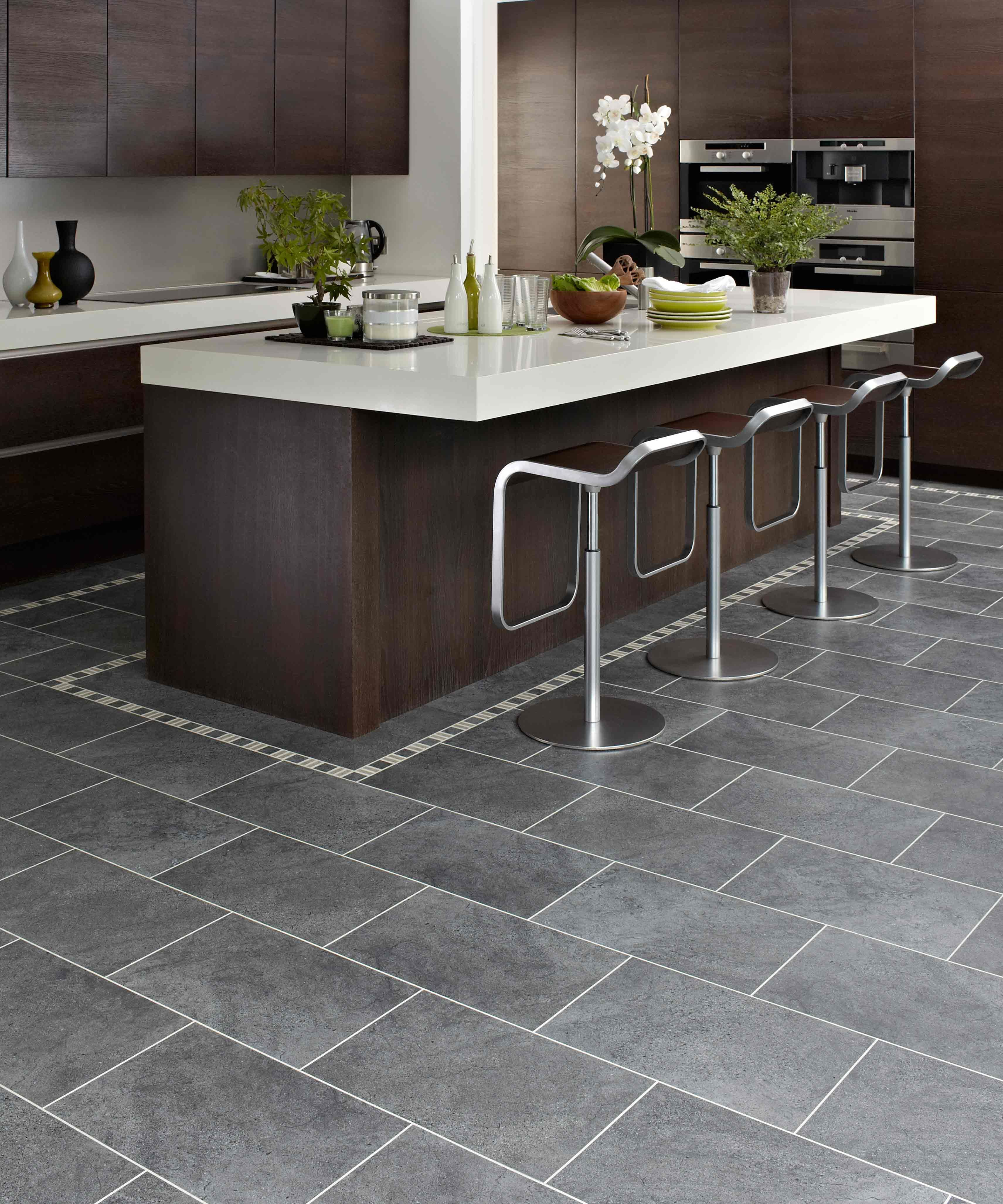 Genial Dark Grey Kitchen Floor Tiles   OutOfHome