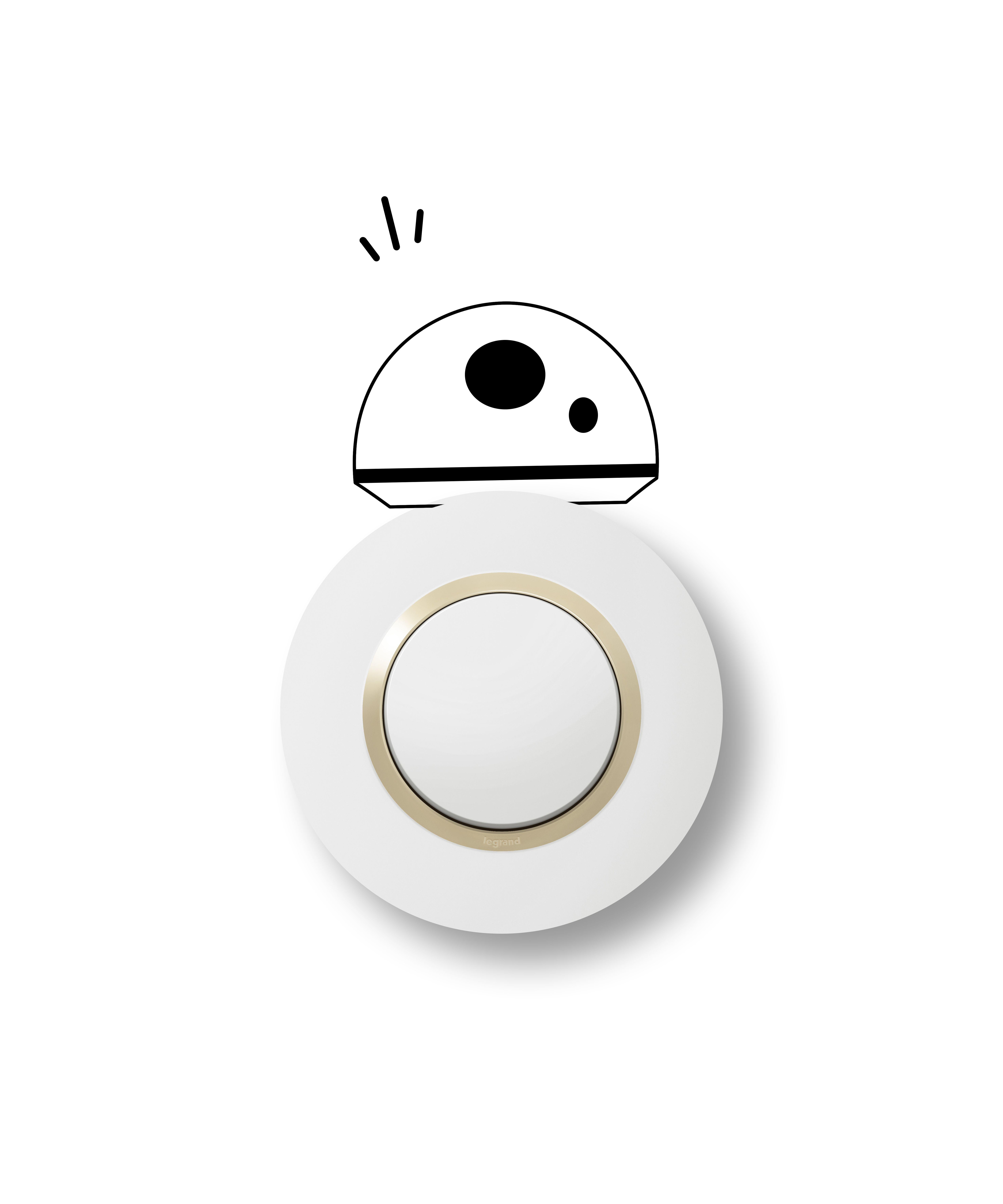 Dooxie Star Wars Interrupteurs Interrupteur Simple Prise Interrupteur