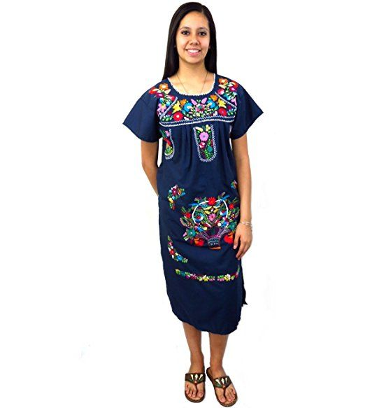 e8c150525b050 Leos Imports (TM) Mexican Dress Tehuacan at Amazon Women s Clothing store