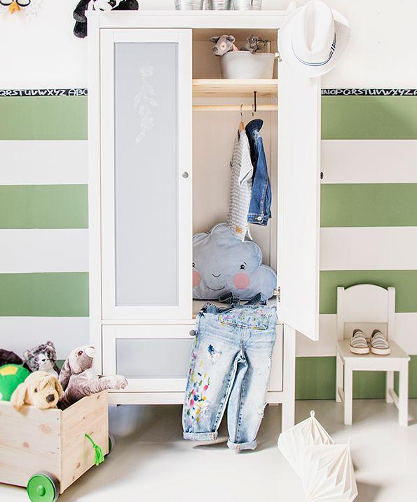 Sundvik Kledingkast Wit Kinderen In 2019 Kinderkamer