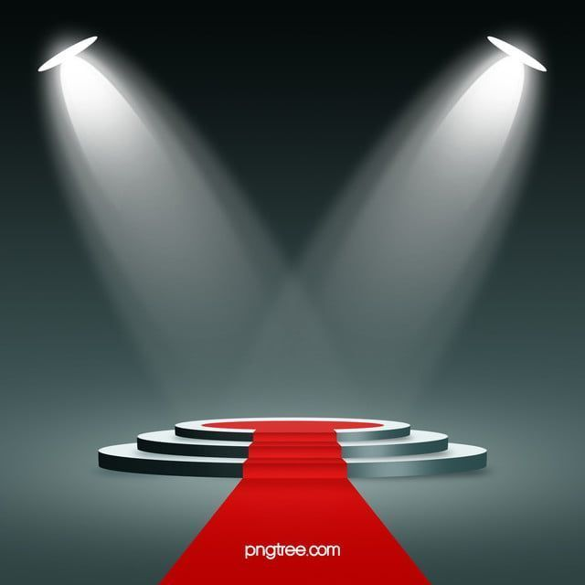 Stereo Stage Lighting Red Carpet Background Material Stereo Stage Lighting Rbackground