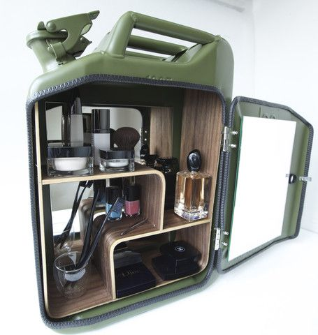 Bathroom Cabinet Made From Jerry Cans By Danish Fuel