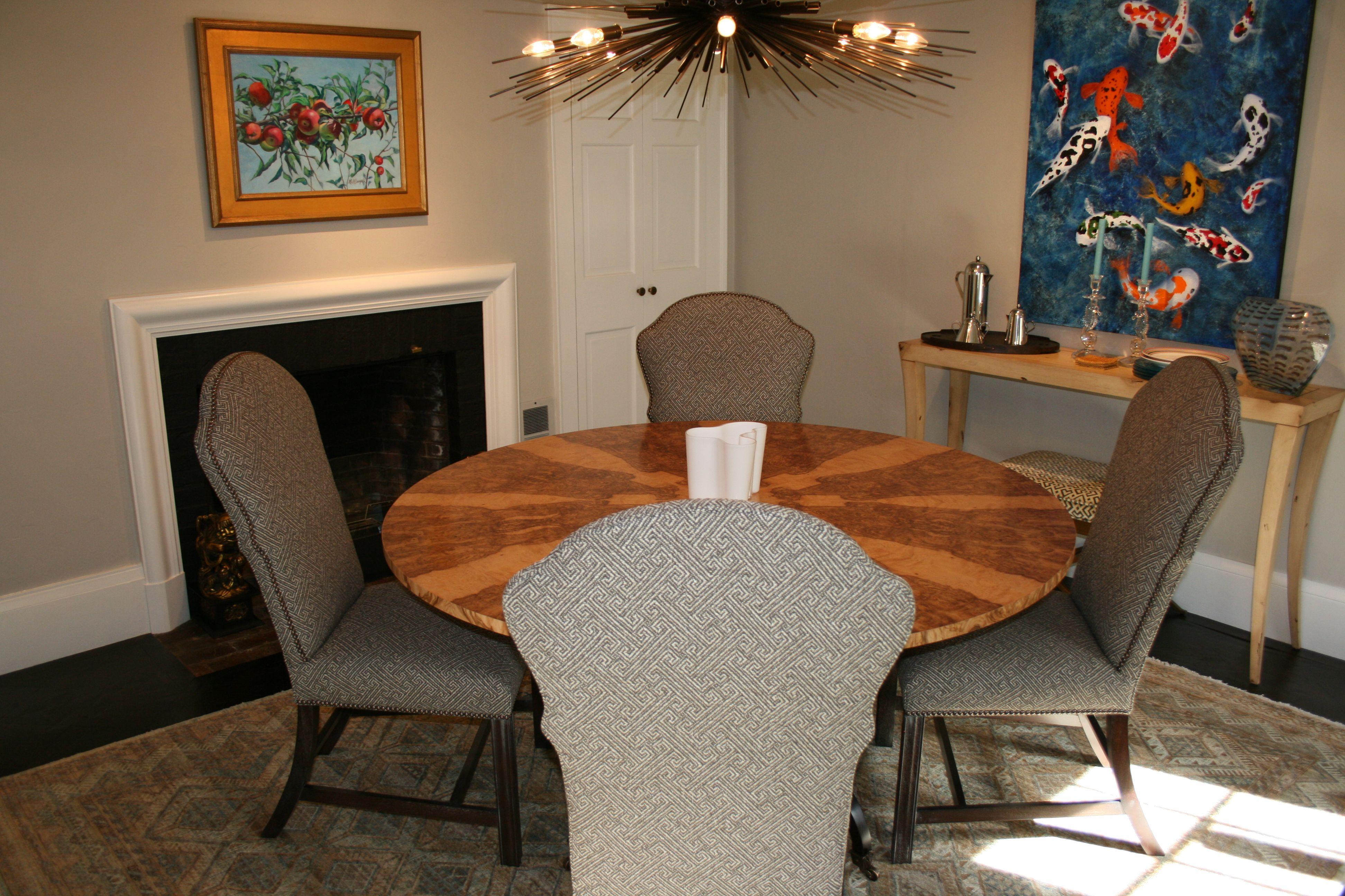 Marlboro Side Chairs, Sutherland Dining Table, Milo
