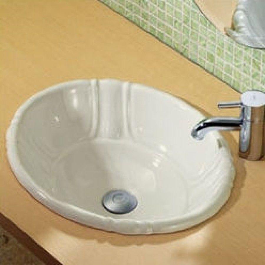 Decolav Amelia Oval Sink 1495 Sink Drop In Bathroom Sinks