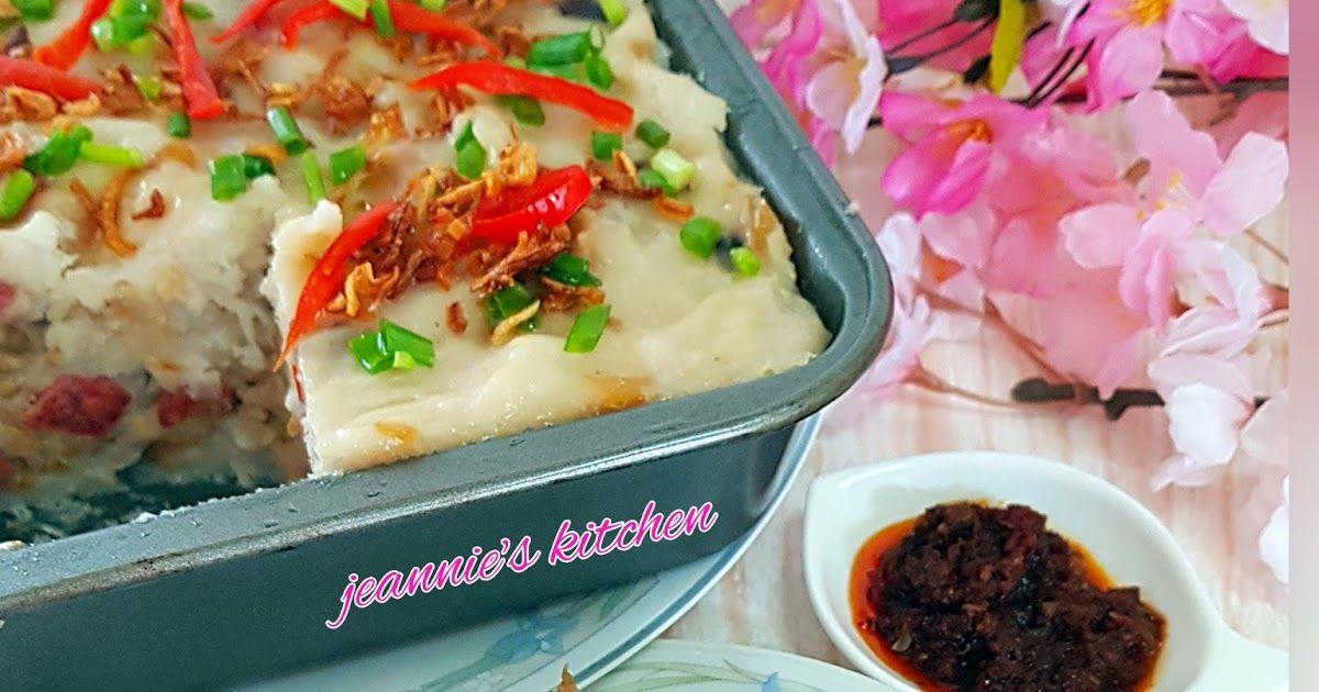 Jeannie62 Kitchen Hongkong Style Steamed Radish Cake Dim Sum
