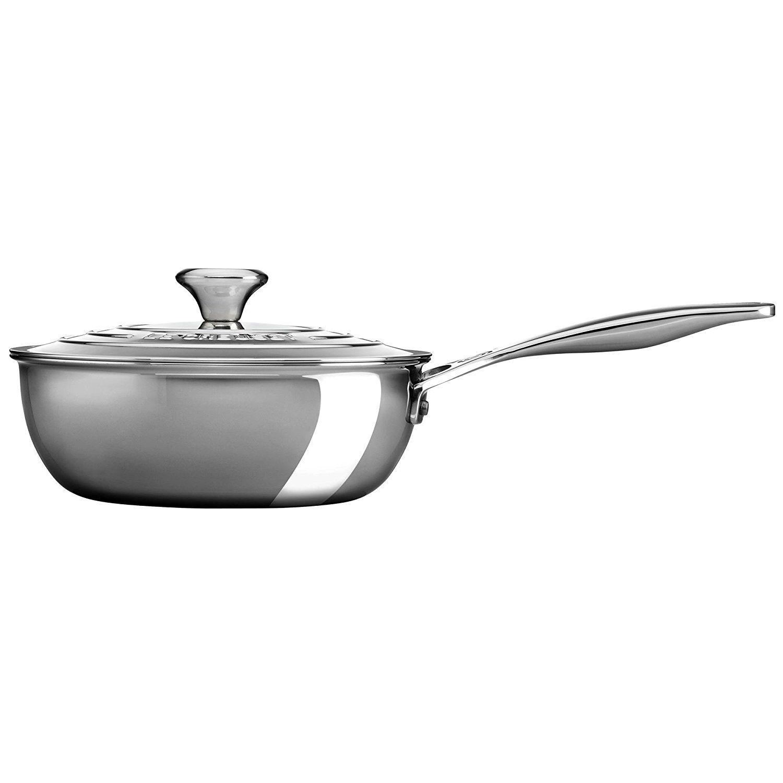 2 Qt Stainless Steel Saucier Pan With Lid Tried It Love It Click The Image Saucepans Pan Saucepan Ceramic Hobs