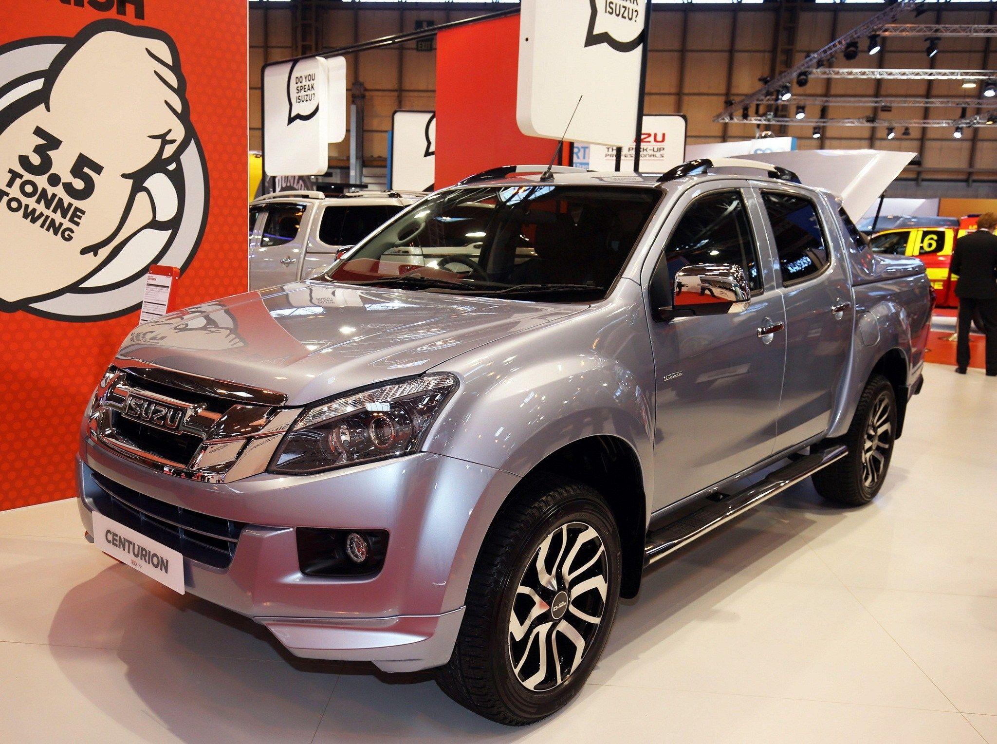 2020 Isuzu MUX Review and Specs Car, New pickup trucks