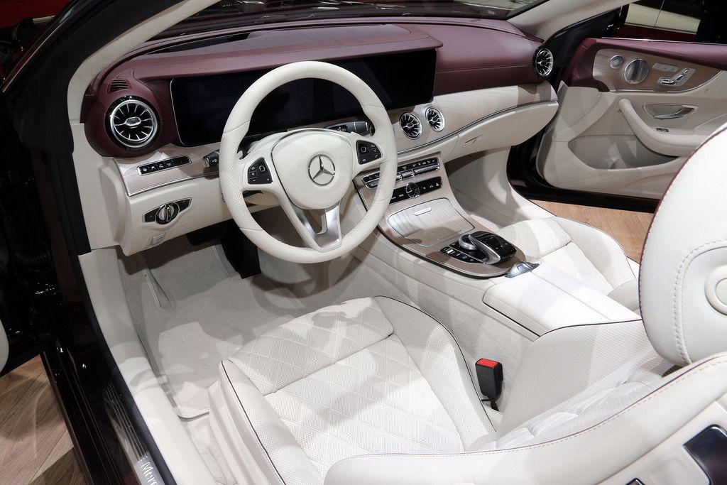 2018 Mercedes Benz E Class Cabriolet Live Photos 2017 Geneva