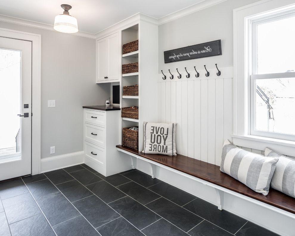 Skandinavische küchenmöbel ~ Sitzbank für den flur ideen im skandinavischen stil interiors