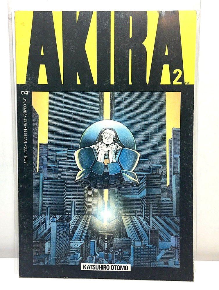 Akira Vol 1 2 1988 Vintage Epic Comics Comic Books Ebay Akira Akira Comics Akira Anime