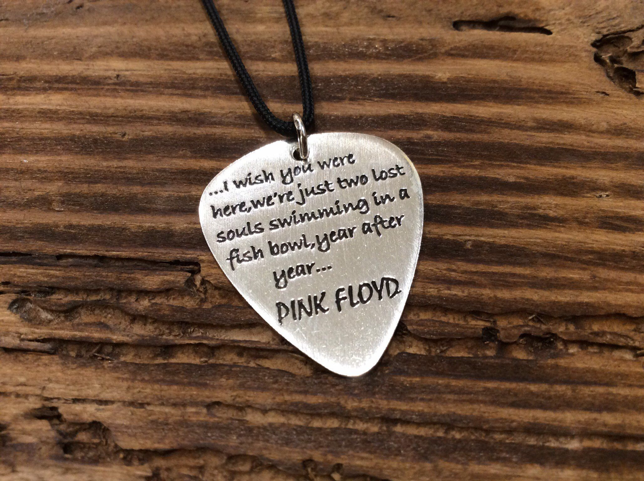 I pick you every time Personalized Guitar Pick Keychain with Heart Cut Out