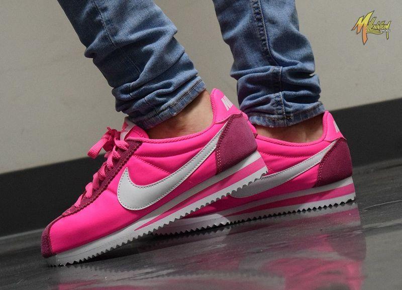 HOT PINK NIKE CORTEZ SHOES | Nike