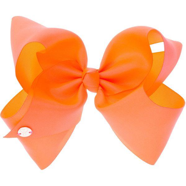 Jojo Siwa Bow Neon Orange