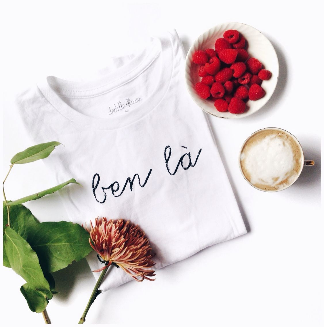 My ben la tee is on sale on shopeluxe.com #benla #tshirt #framboises