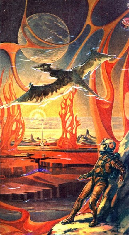 """Promotional art from the Russian science fiction movie """"Planeta Bur"""" (The Planet of Storms) - 1959: Dark Roasted Blend: Retro-Future: To The Stars!"""