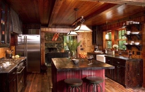 rustic and cozy If You Can\u0027t Stand The Heat Pinterest