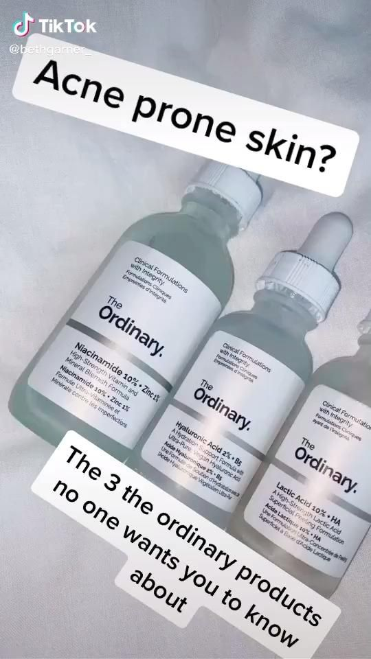 The Ordinary Products for Acne & Hyperpigmentation: Best Products