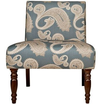 Best Bradstreet Chair In Feathered French Blue Paisley 2 Pk 400 x 300