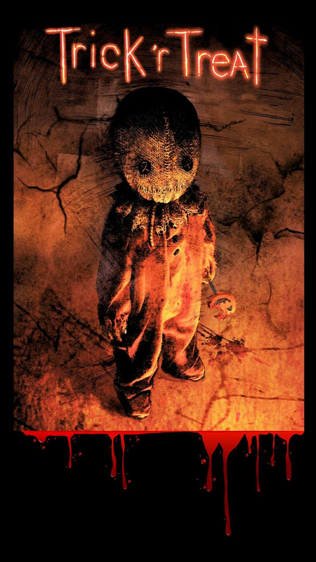 Trick R Treat Halloween Wallpaper Halloween Wallpaper Iphone