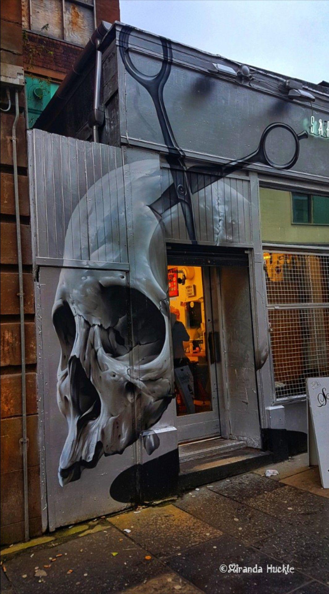 Murales De Barber Shop