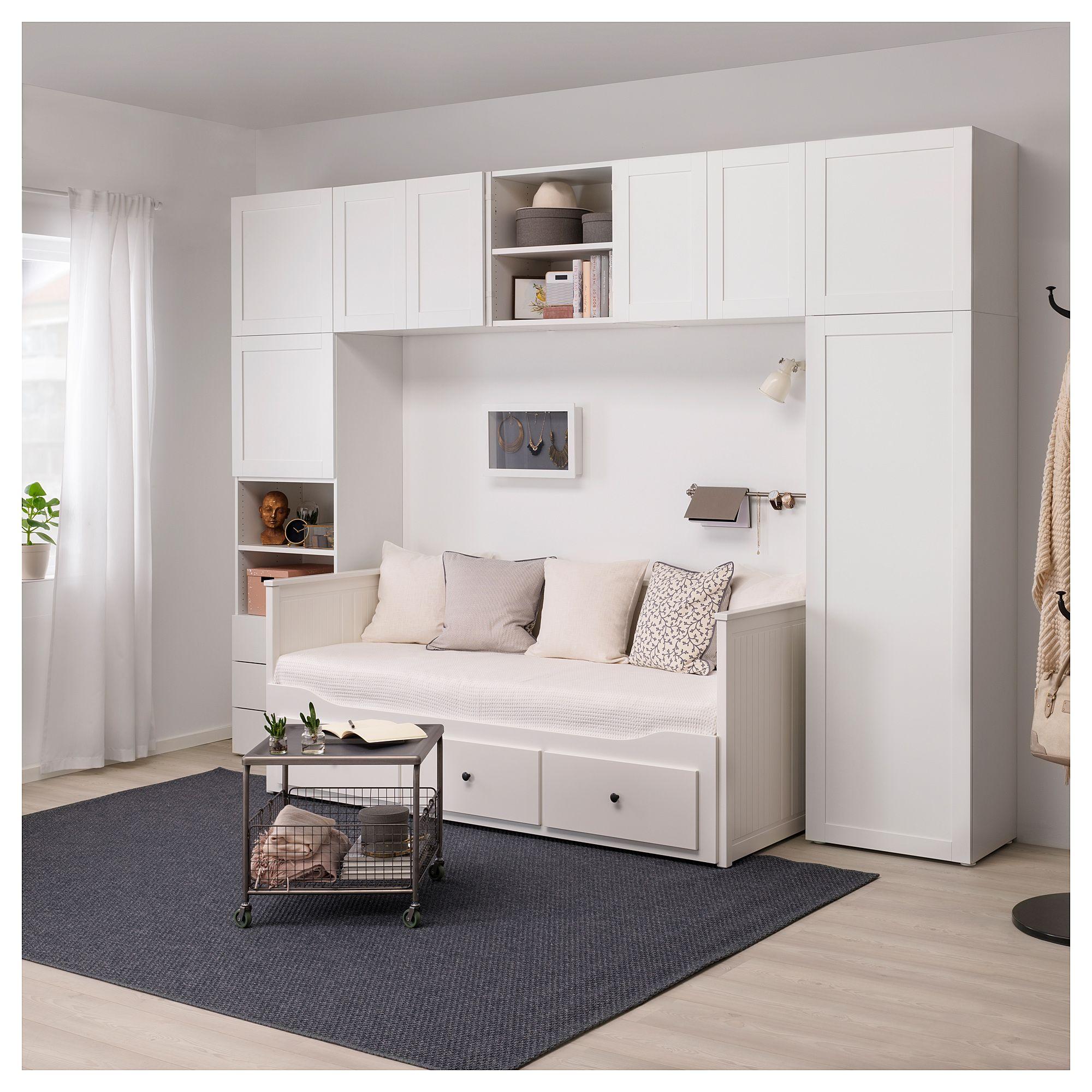 Platsa Wardrobe White Fonnes Sannidal Ikea Alex Bedroom In