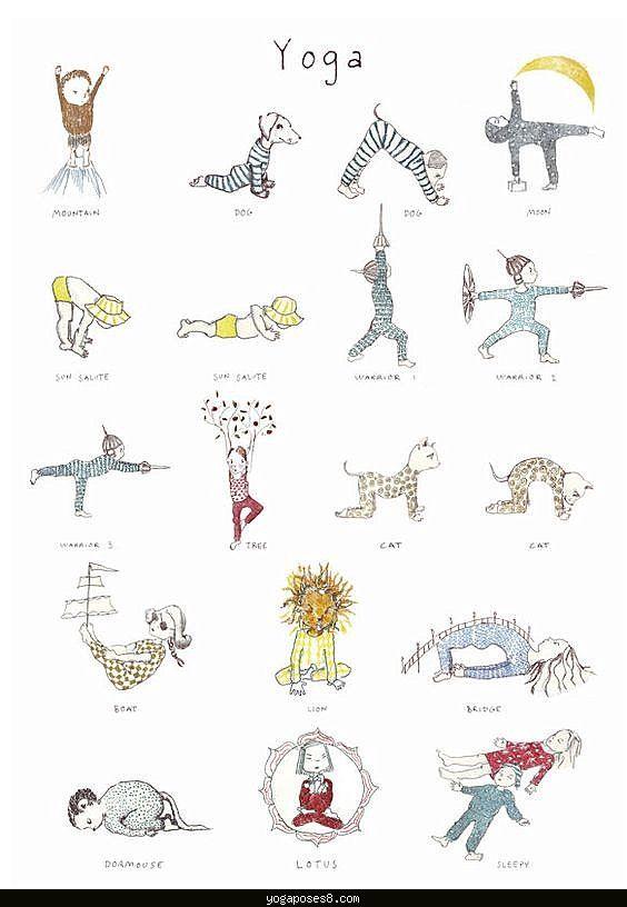 Easy Kid Yoga Animal Poses
