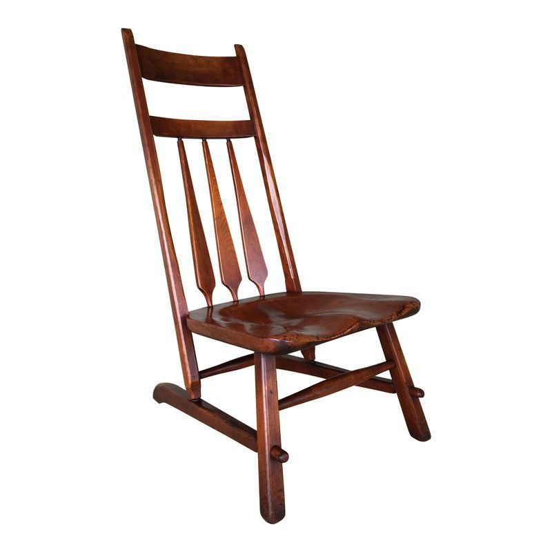 Amazing 1935 Cushman Colonial Creations Mahoagny Mule Chair Download Free Architecture Designs Embacsunscenecom