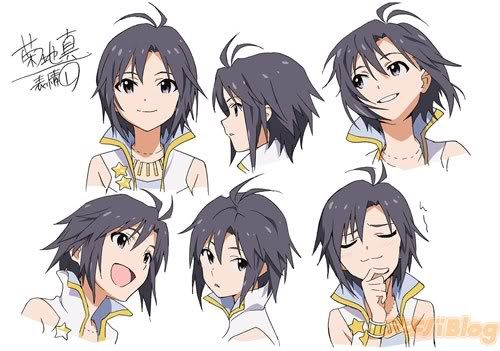 makoto kikuchi from the idolm ster she s a total tomboy trying to be girly and it never works for her mostl anime character design character art anime sketch