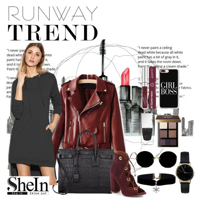"""""""Untitled #13"""" by sabrinadiaa ❤ liked on Polyvore featuring Yves Saint Laurent, Steve Madden, Miu Miu, Bobbi Brown Cosmetics, Givenchy, Freedom To Exist and Casetify"""