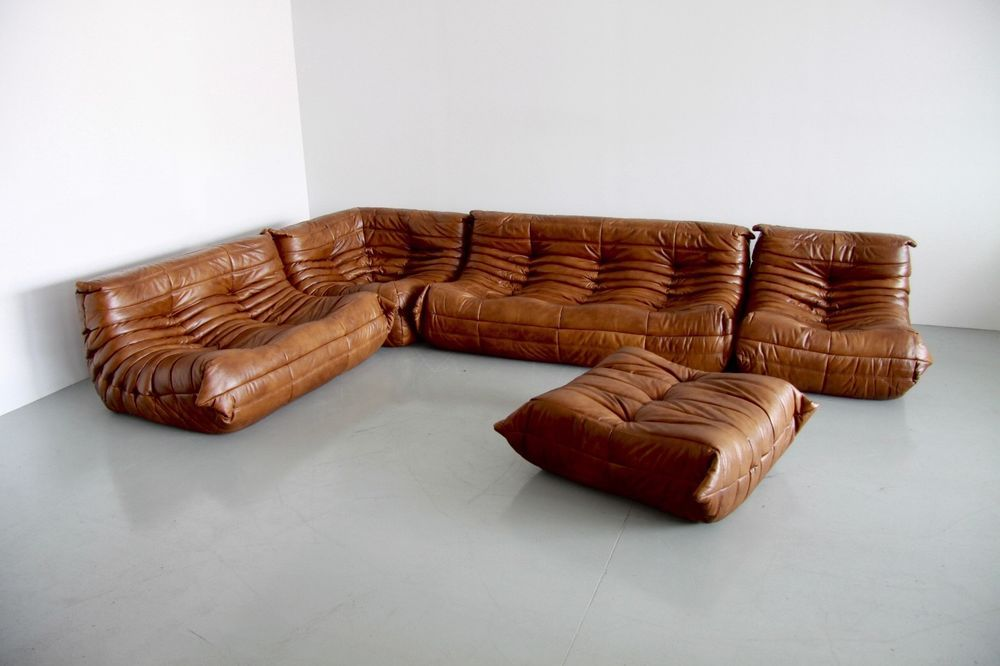 This Is A Ligne Roset Togo Set Comprising A Large 3 Seat A