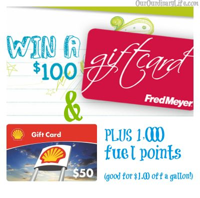 Fred Meyer Fuel Points Savings 100 Fred Meyer Gift Card